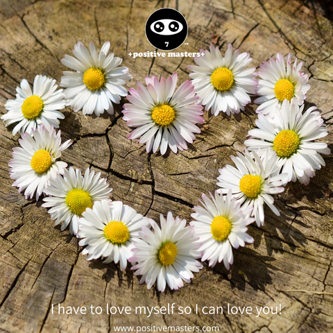 have to love myself so I can love you! Boost yourself up with self-love, sleep, mindset practices, meditation, self-reflection, nutrients, exercise, knowledge, and skills. When you're powered up, you can fully radiate your love to others!