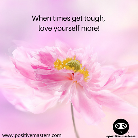 When times get tough, love yourself more! During times of hardship, having alone time to replenish your energy is important. Activities such as self-reflection, meditation, reading, taking a nice walk outside, listening to a motivating podcast, journaling, drawing, designing, and creative writing can lift your spirit.