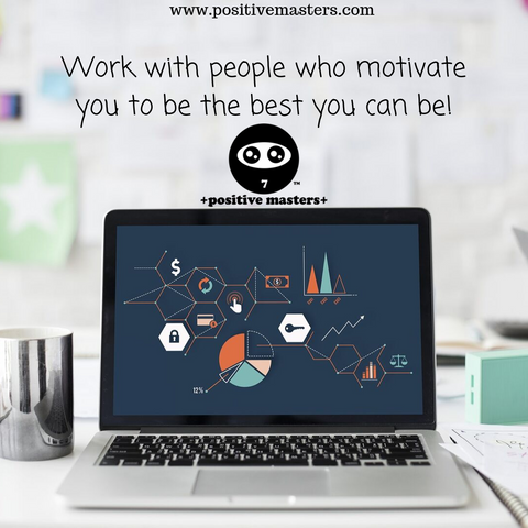 Work with people who motivate you to be the best you can be!  Here are 5 qualities of people who are good to work with.