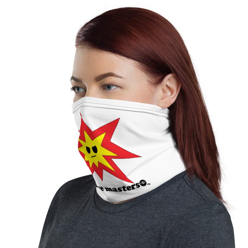 Angry Explosion Logo Unisex Neck Gaiters 6 of 13