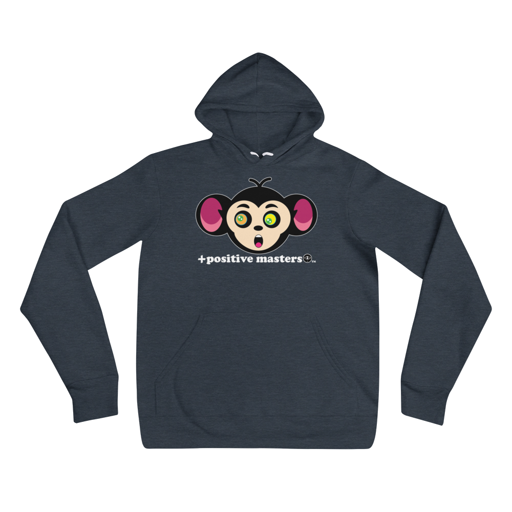 Monkey Mind Logo Dark Unisex Hoodies