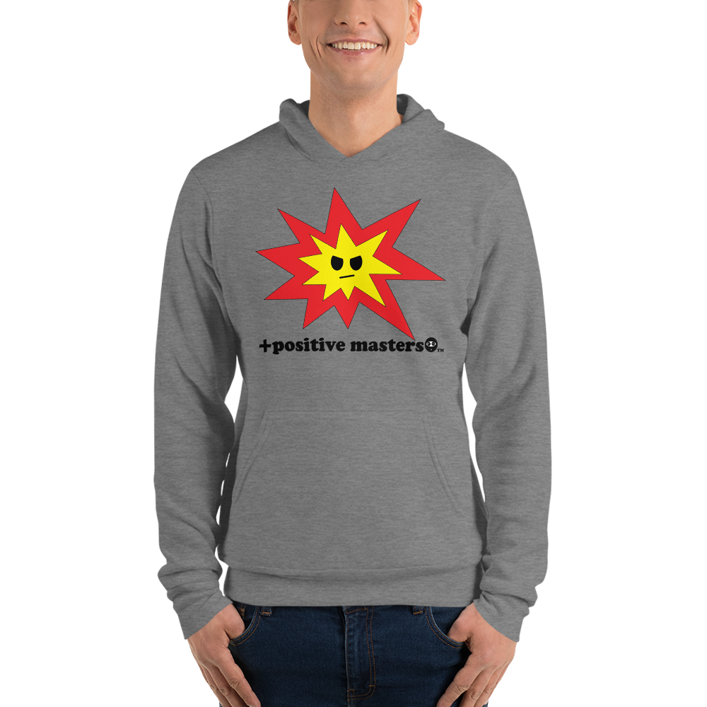 Angry Explosion Logo Unisex Hoodies