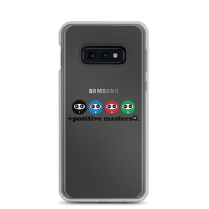 Entourage Logo Samsung Galaxy Phone Cases (Black Font)