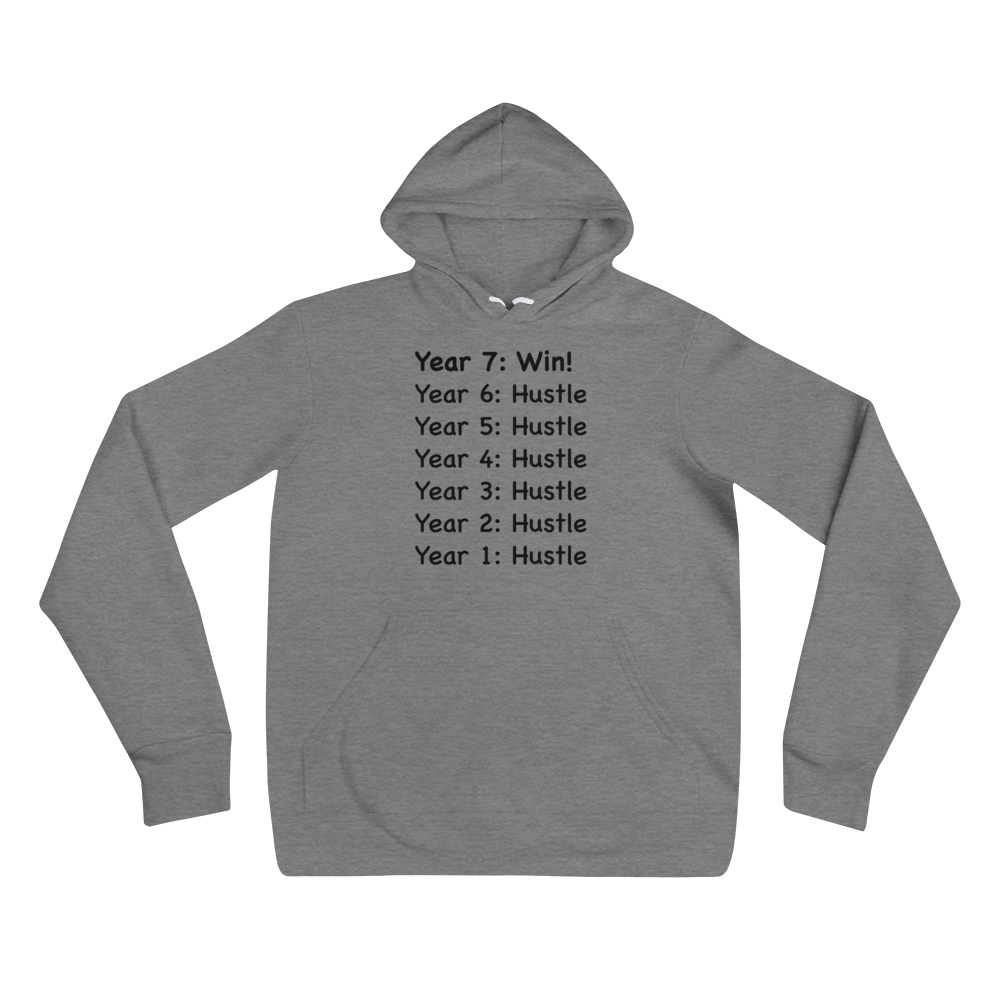 Consistency & Patience Mantra Unisex Hoodies