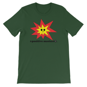 Angry Explosion Unisex Short-Sleeve T-Shirt - +positive masters+, shirts and clothing to crush anxiety and depression