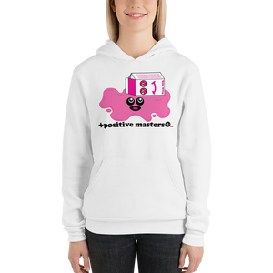 Spilled Pink Milk Logo Unisex Hoodies