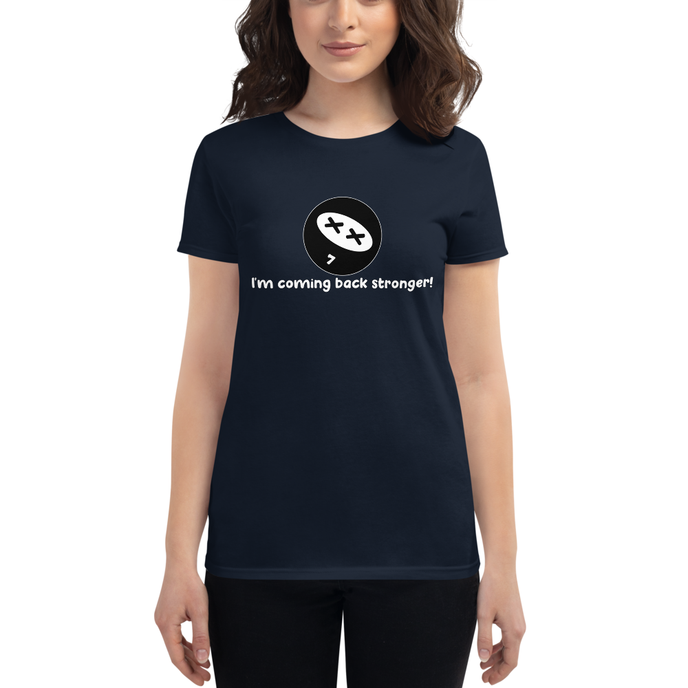 Resilience Mantra Dark Women's Fit T-Shirts