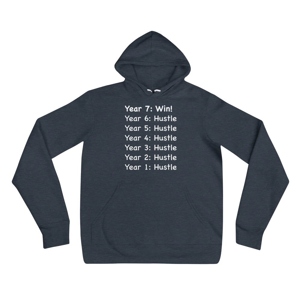 Consistency & Patience Mantra Dark Unisex Hoodies