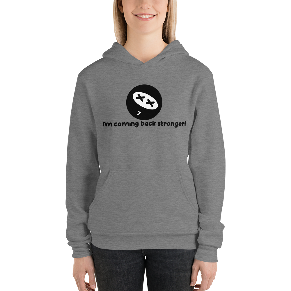Resilience Mantra Unisex Hoodies