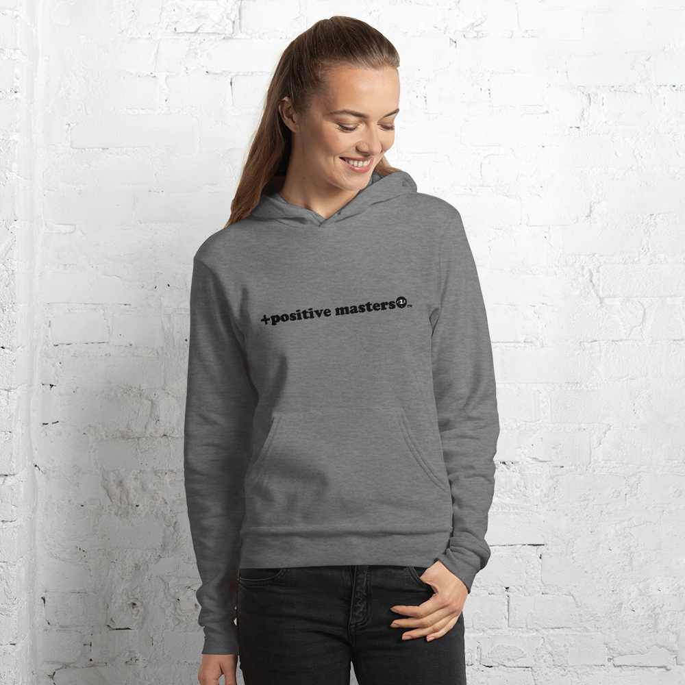 Positive Masters 2nd Logo Unisex Hoodies