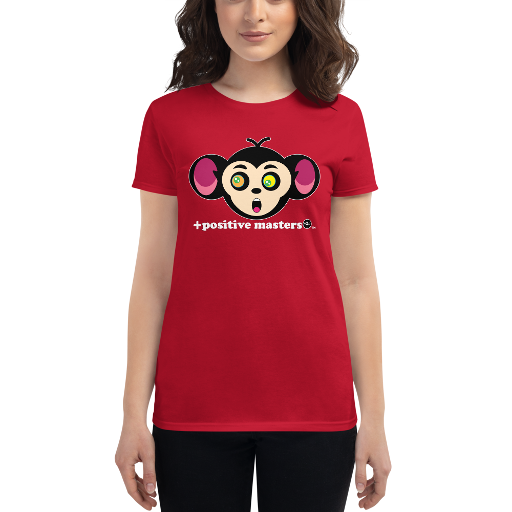 Monkey Mind Logo Dark Women's T-Shirts