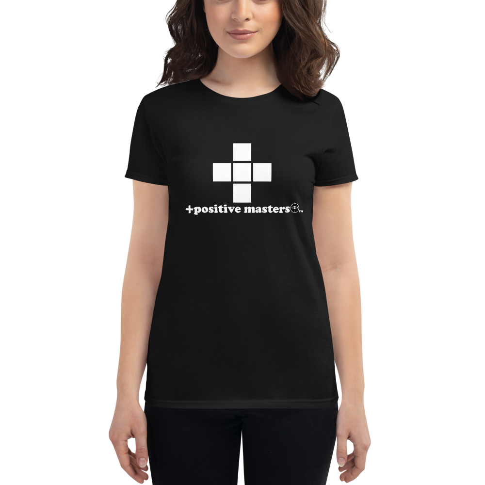 Plus Sign Logo Dark Women's Fit T-Shirts