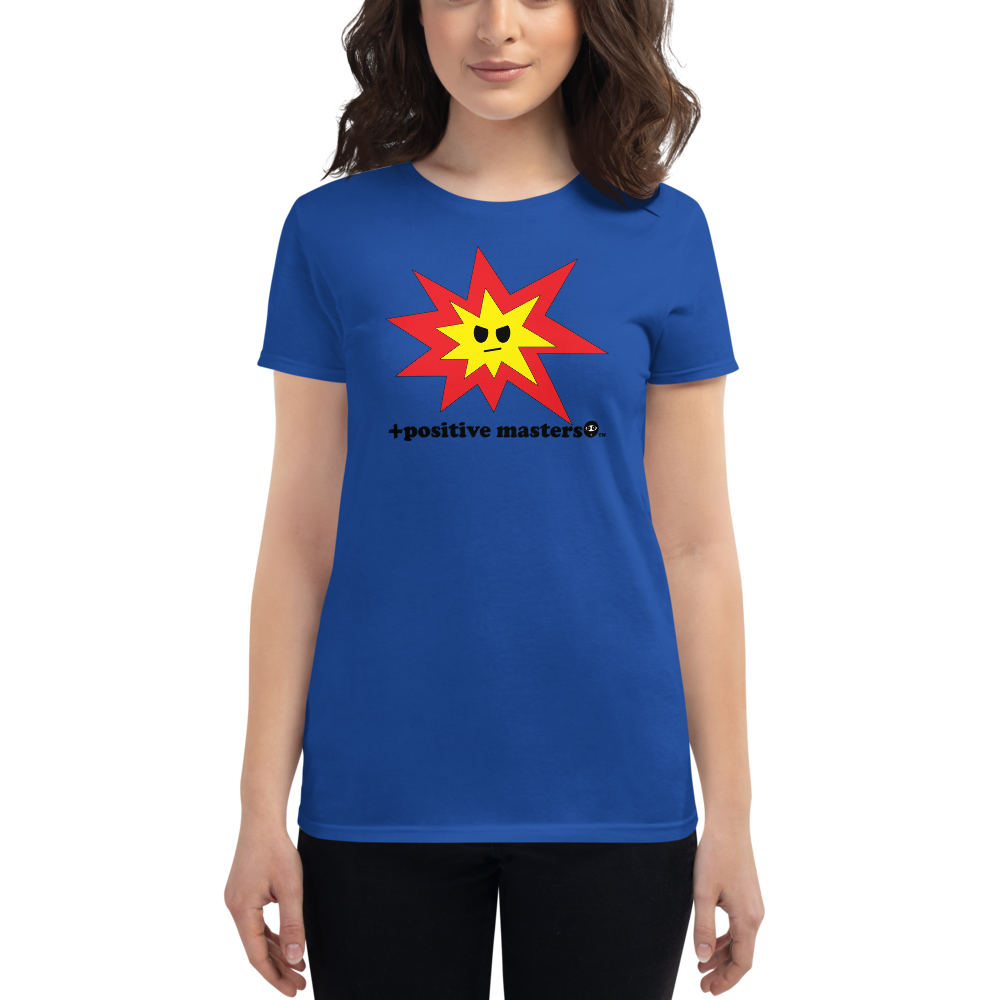 Angry Explosion Logo Women's Fit T-Shirts