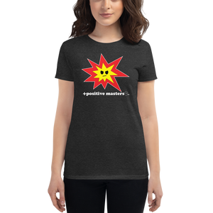 Angry Explosion Logo Dark Women's Fit T-Shirts