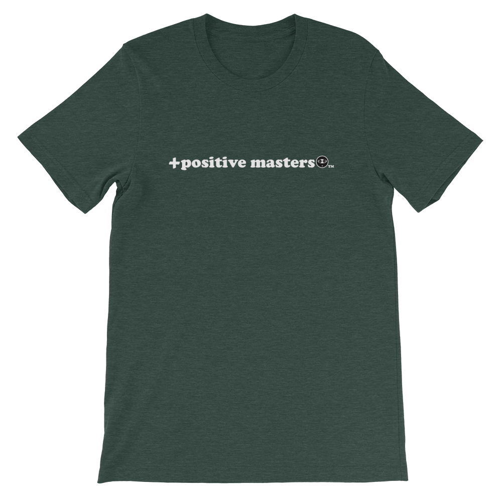 Positive Masters 2nd Logo Dark Unisex T-Shirts