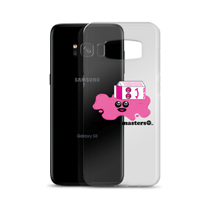 Spilled Pink Milk Logo Samsung Galaxy Phone Cases (Black Font)