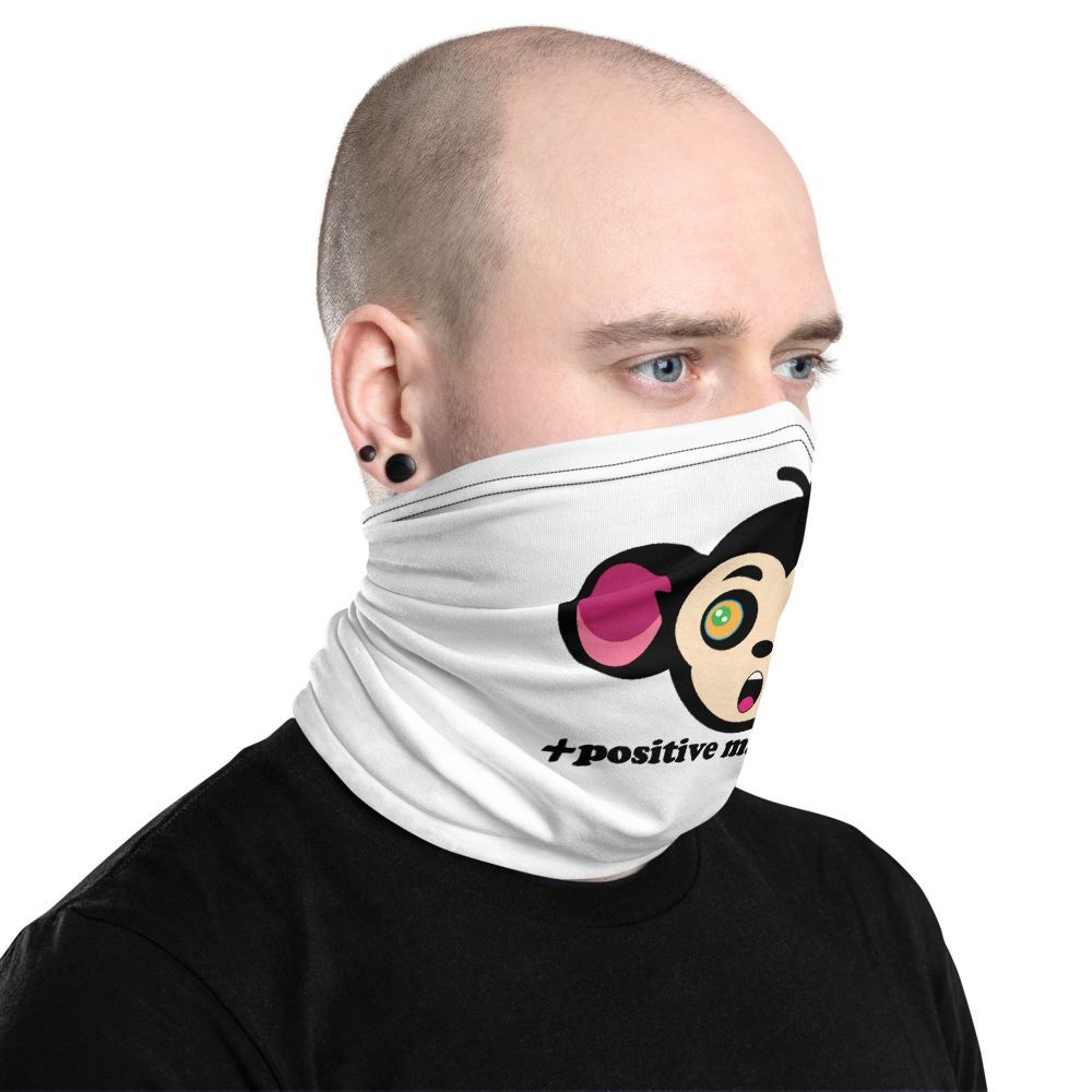 Monkey Mind Logo Unisex Neck Gaiters