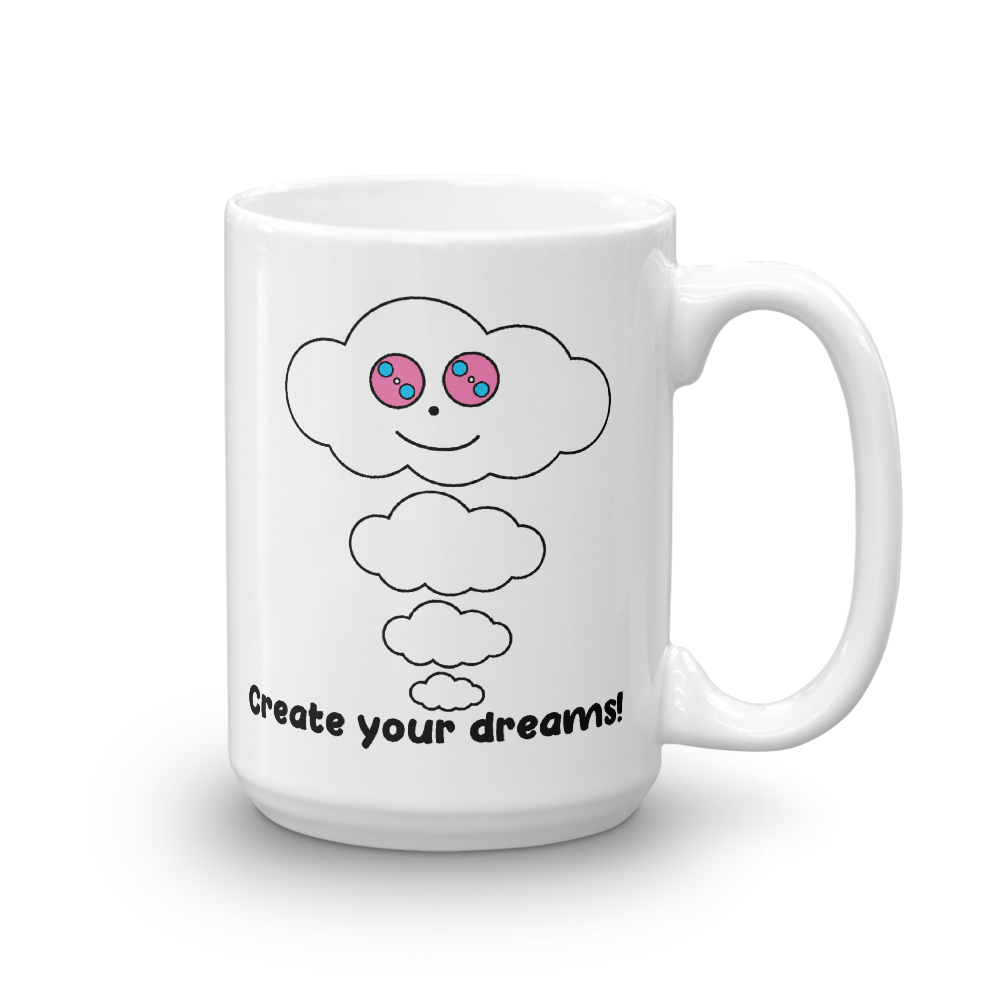 Dream Cloud Mantra Mugs