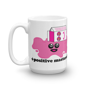 Spilled Pink Milk Logo Mugs