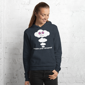Dream Cloud Mantra Dark Unisex Hoodies