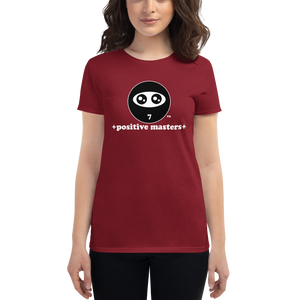 Positive Masters Logo Dark Women's Fit T-shirts