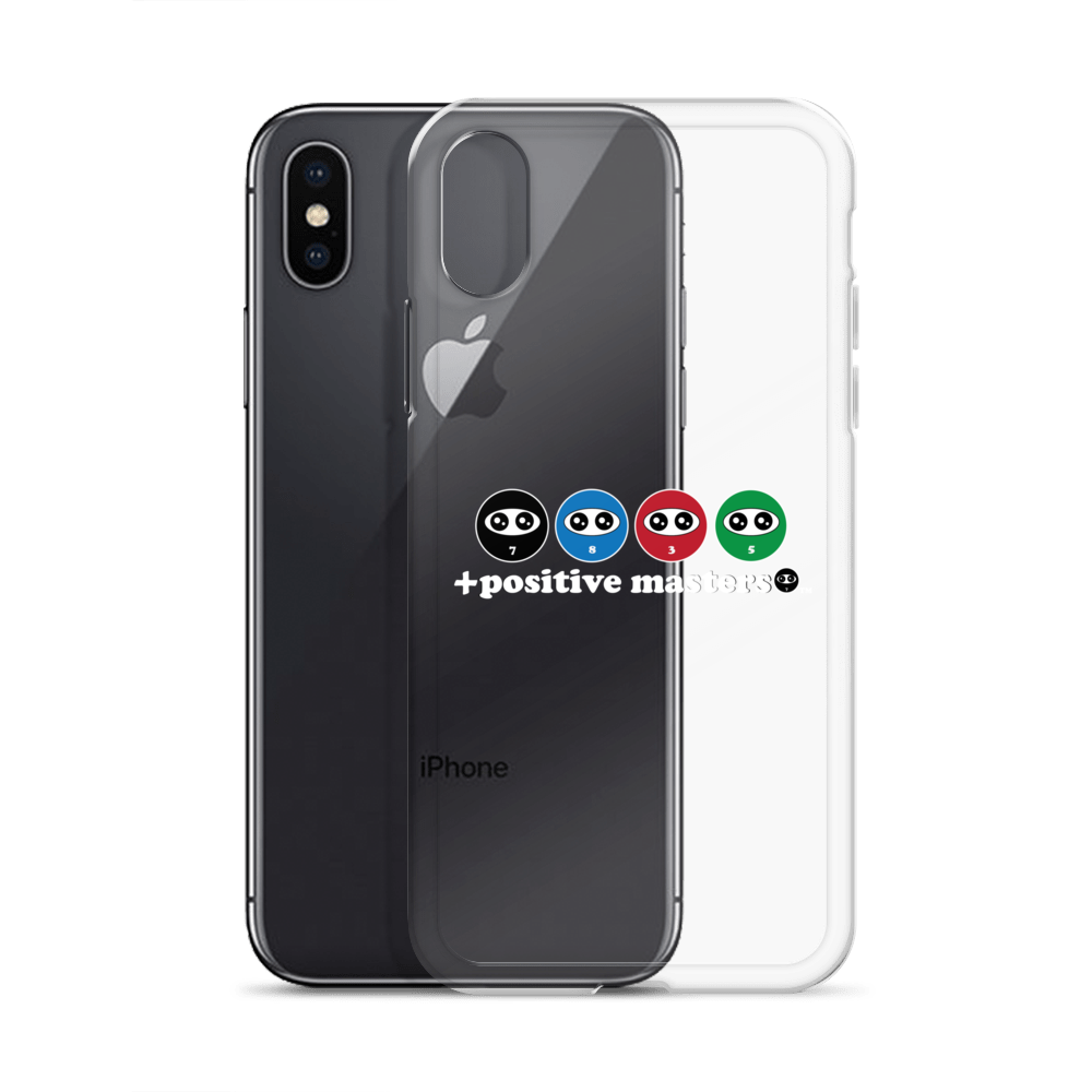 Entourage Logo Apple iPhone Cases (White Font)