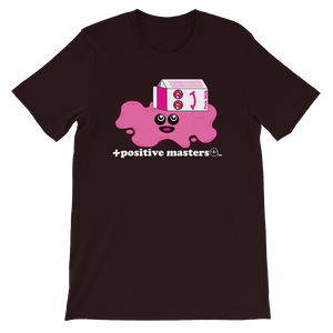 Spilled Pink Milk Logo Dark Unisex T-Shirts