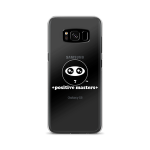 Positive Masters Logo Samsung Galaxy Phone Cases (White Font)