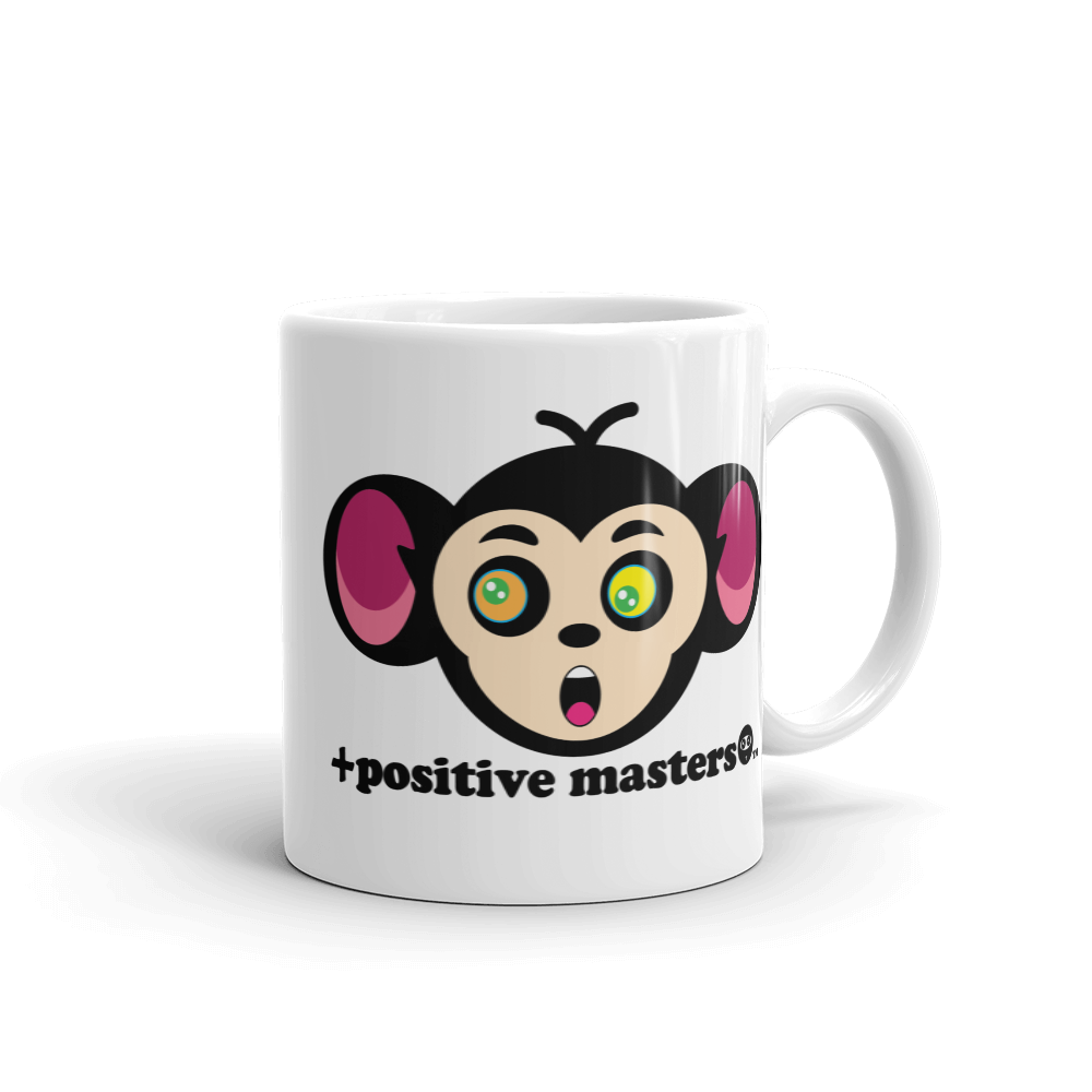 Monkey Mind Logo Mugs