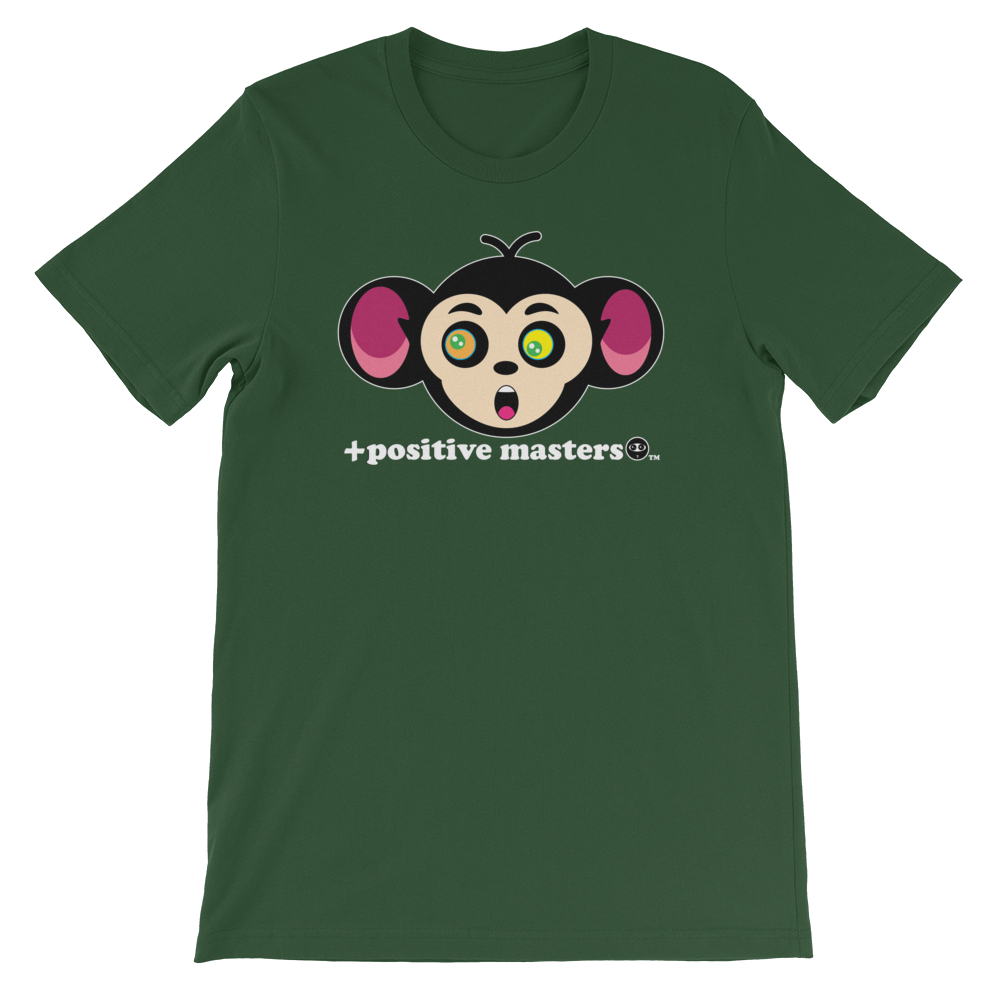 Monkey Mind Logo Dark Unisex T-Shirts