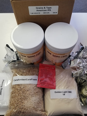 Grains & Taps American IPA Ingredient Kit - Extract