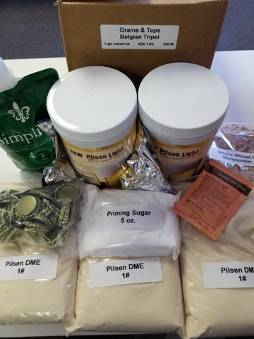 Grains & Taps Belgian Tripel Ingredient Kit - Extract