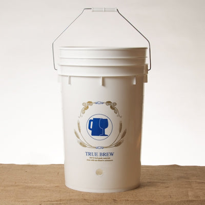 6.5 gallon bucket drilled for spigot