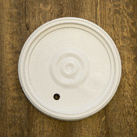 6.5 Gallon Fermentation Bucket Lid - Drilled with Grommet