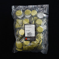 Plain Bottle Caps - 144 Count Bag