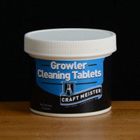 Growler Cleaning Tabs - 25 count