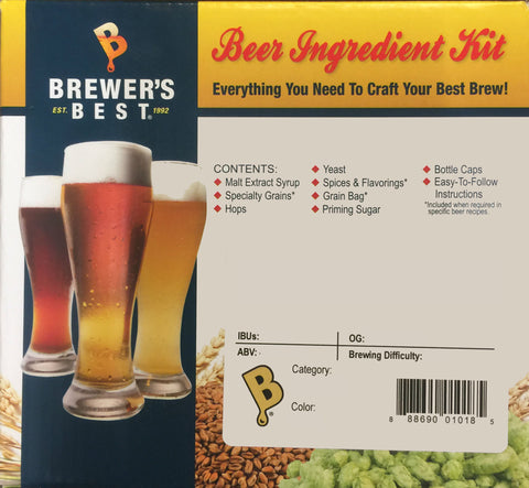 Brewer's Best 5 Gallon Ingredient Kit - India Pale Ale