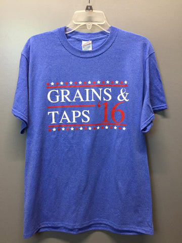 Grains & Taps Campaign T-Shirt