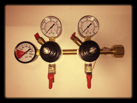 CO2 Double Regulator