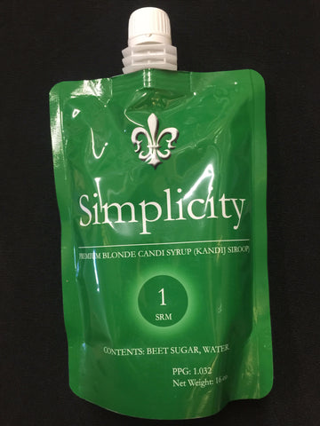 Simplicity Light Candi Syrup