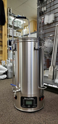 BrewZilla All Grain Brewing System With Pump - 35L/9.25G (220V)