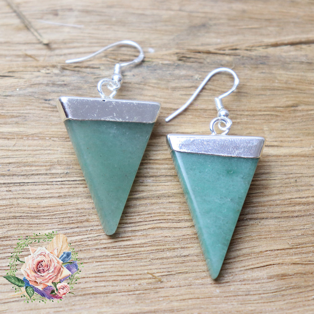 Handmade Aventurine earrings