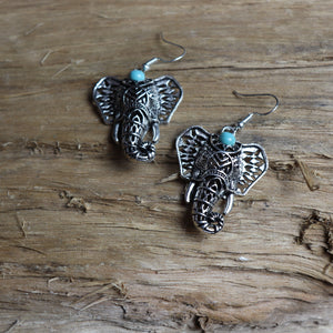Handmade Elephant Earrings