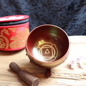 Tibetan Handmade Root Chakra Singing Bowl