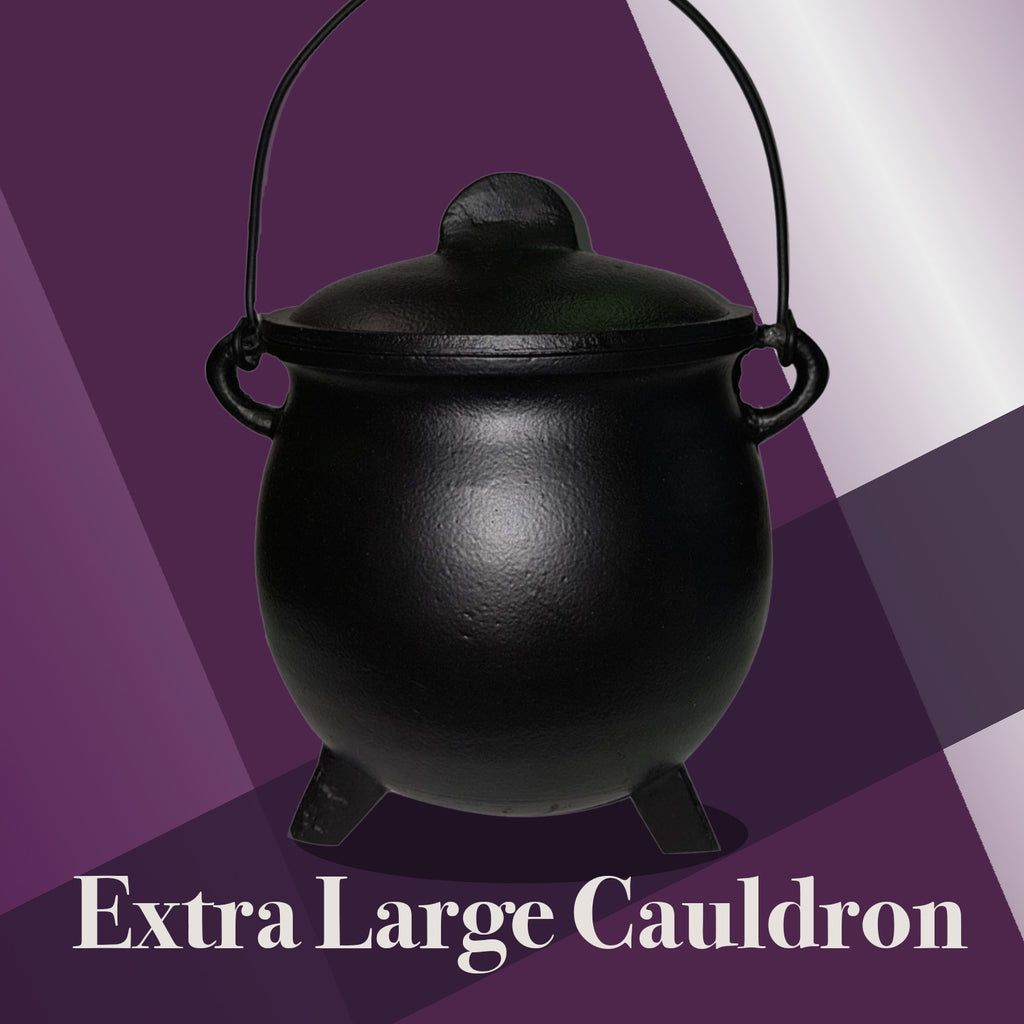 Extra Large Cast Iron Cauldron