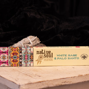 Native Soul White Sage and Palo Santo Incense
