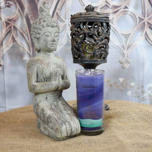 Meditation Yoga Reiki Pillar The Ajna Chakra Candle