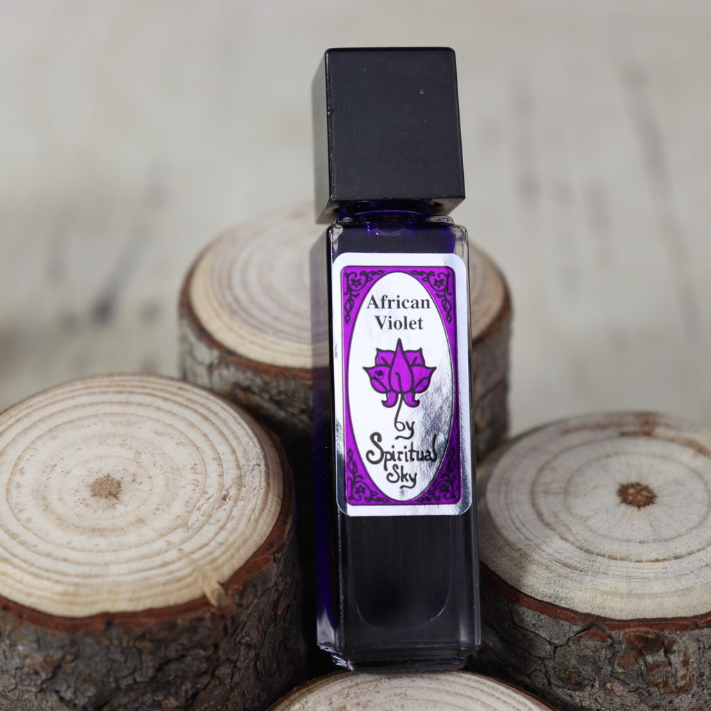 Spiritual Sky Perfume Oil- African Violet