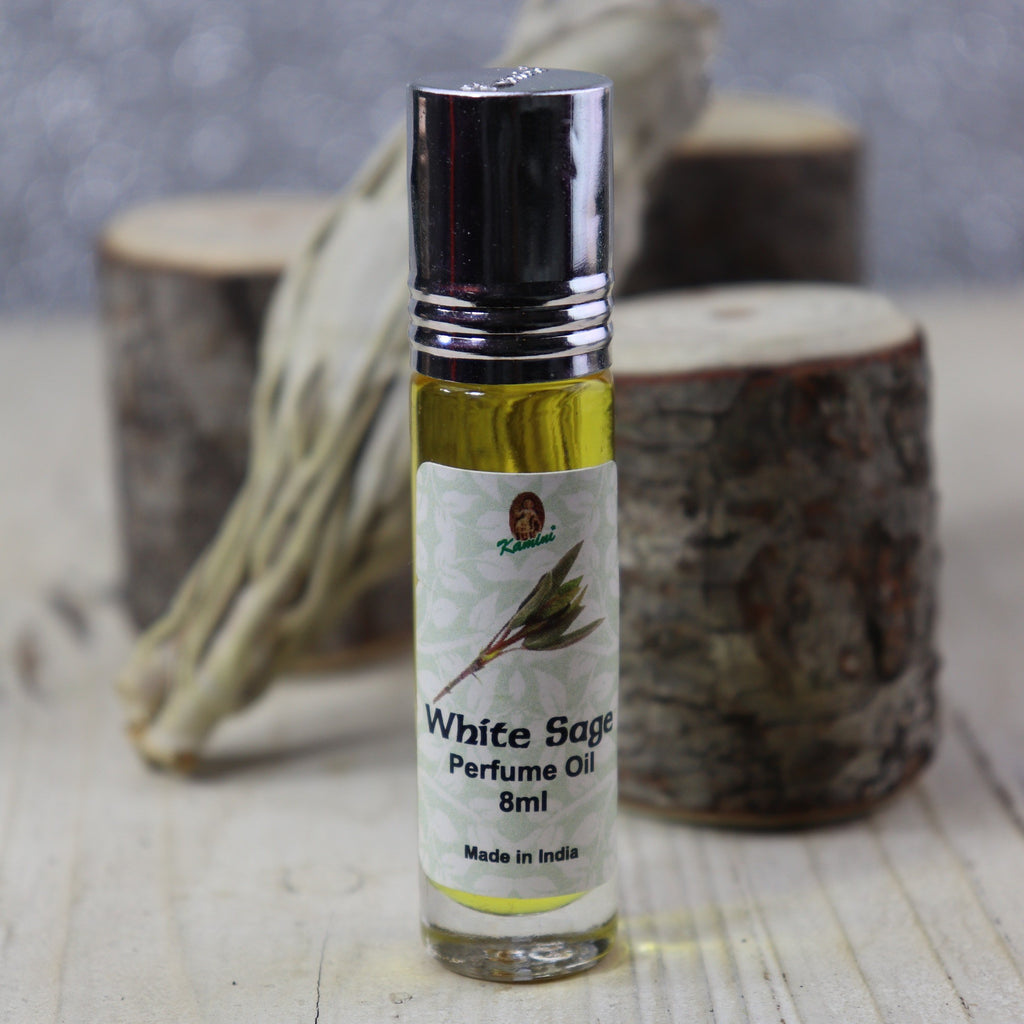 Kamini White Sage roll-on perfume Oil 8ml