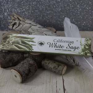 Green Tree White Sage Incense Sticks 15gms